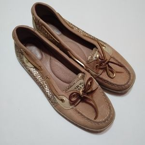 Sperry Topsiders Angelfish Glitter Side Loafers